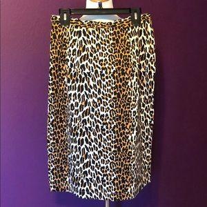 Trashy Diva Size 10 Leopard Pencil Skirt